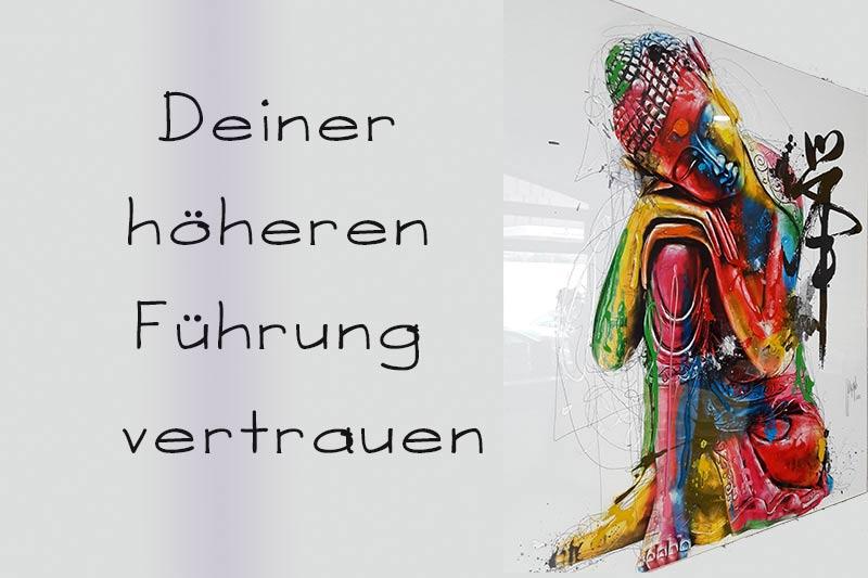 Read more about the article Vertrauen in deine höhere Führung finden
